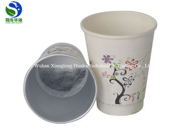 Healthy Paper Instant Tea Cups Customized Logo Printed Business Use
