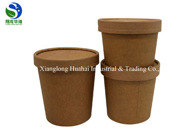 85oz Biodegradable food packing paper bucket for popcorn fried chicken
